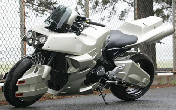 Motocicleta Robotech Cyclone (Foto: Divulgação)