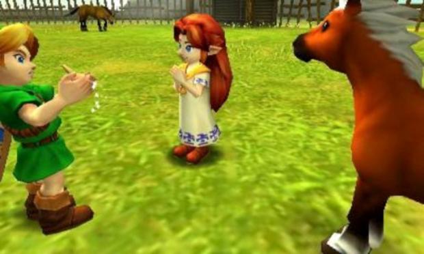 The Legend of Zelda: Ocarina of Time 3D (Foto: Divulgação)