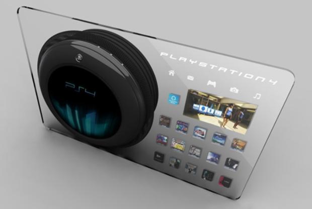 Imagem conceitual de fã sonha como seria o PlayStation 4 (Foto: Divulgação)