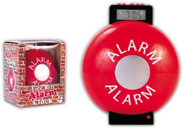 Despertador alarme de incêndio (Foto: Reprodução)