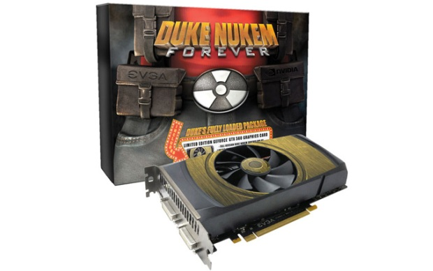 Placa de vídeo GeForce especial Duke Nukem (Foto: Divulgação)