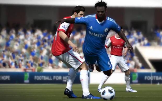 Novo trailer de FIFA 12 foca o contato físico entre os jogadores (Foto: Reprodução)
