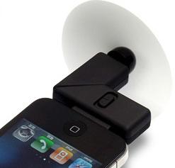 Ventilador no iPhone (Foto: Divulgação)