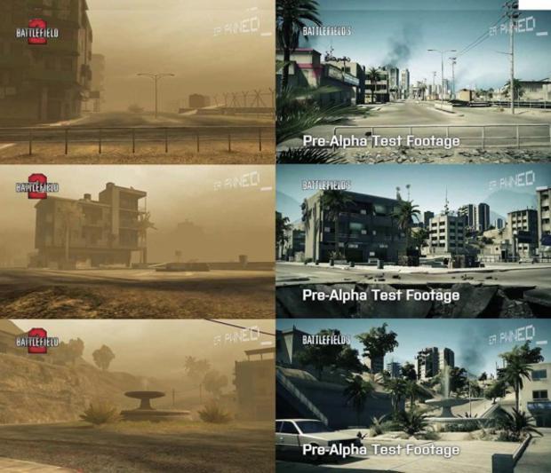 """Mapa """"Karkand"""" em Battlefield 2 e 3: Mais elementos adicionados (Foto: Joystiq)"""