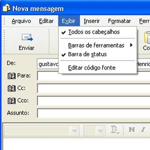 Cópia oculta no Outlook Express (Foto: Divulgação)