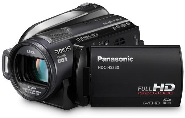 Panasonic HDC-HS250 (Foto: divulgação)