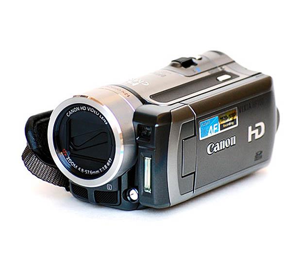 Canon HF 100 (Foto: Divulgação)