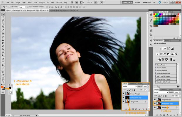 Efeito Elemental do Fogo no Photoshop (Foto: Reprodução/TechTudo)