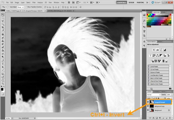 Efeito Elemental do Fogo no Photoshop (Foto: Reprodução/Juliane Costa)