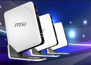 Novos nettops da MSI (Foto: Divulgação)