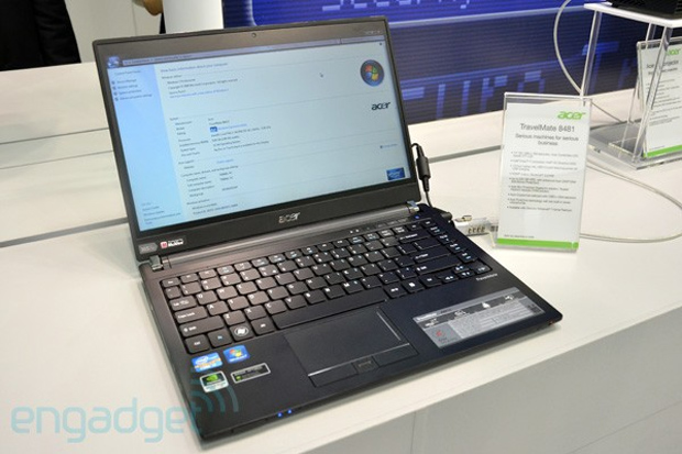 Novo notebook da Acer (Foto: Engadget)