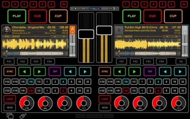 Mesa touchscreen para DJs (Foto: Divulgação)