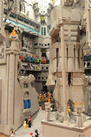 Senhor dos anéis em LEGO (Foto: Divulgação)