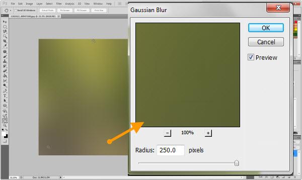 Gaussian Blur (Foto: Reprodução)