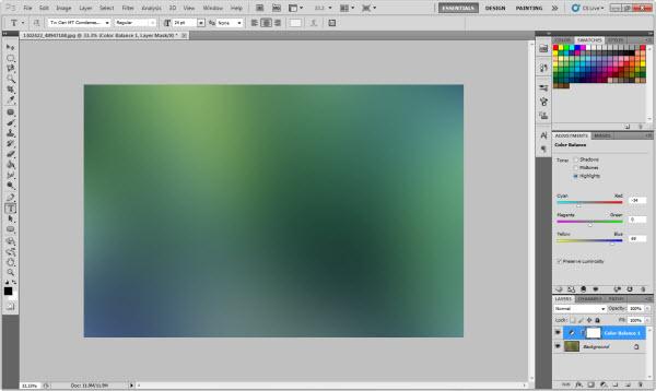 Resultado do Color Balance (Foto: Reprodução)