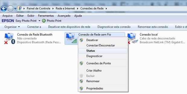 Verificando o endereço IP (Foto: Reprodução/TechTudo)
