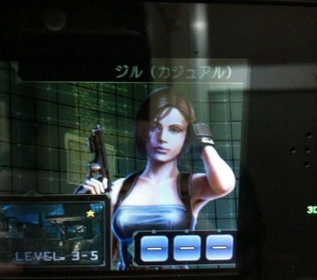 Jill Valentine terá suas vestimentas clássicas em Resident Evil: The Mercenaries 3D (Foto: Destructoid)