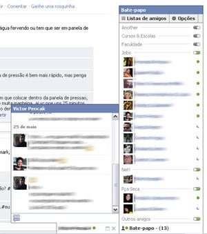 Facebook Chat (Foto: Reprodução)