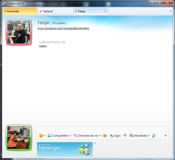 Windows Live Messenger (Foto: Divulgação)