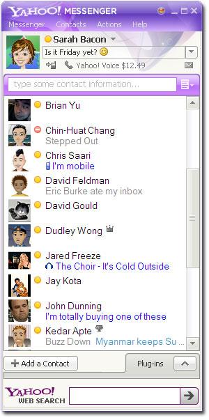 Yahoo! Messenger (Foto: Divulgação)