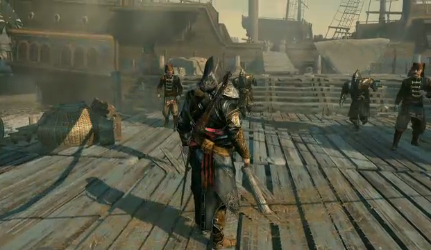 Assassin's Creed: Revelations na conferência da Ubisoft na E3 (Foto: TechTudo)