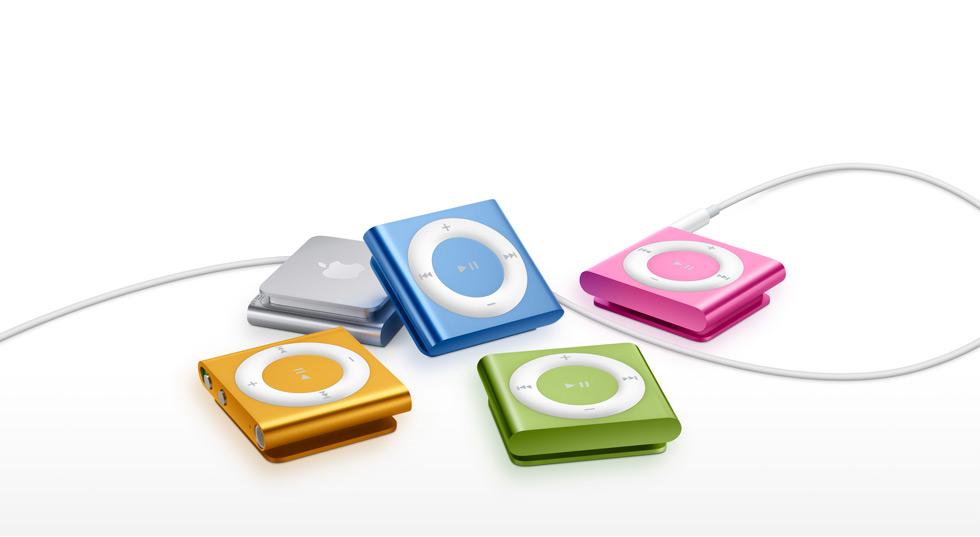 O iPod Shuffle já está em sua quarta geração e o carregamento varia um pouco de geração para geração (Foto: Divulgação)