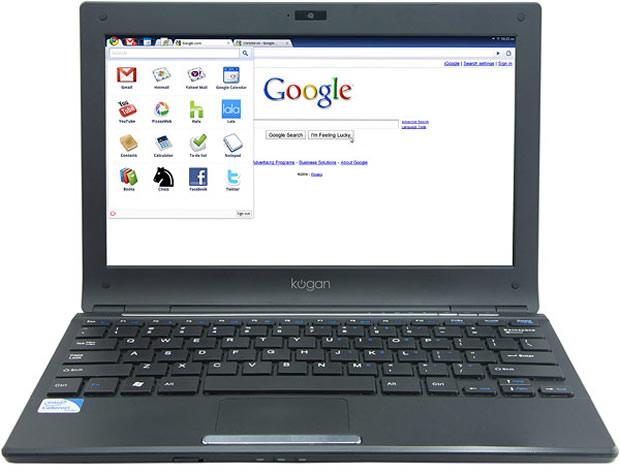 Laptop com Chromium OS  (Foto: Divulgação)