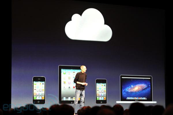 iCloud (Foto: Reprodução: Engadget)
