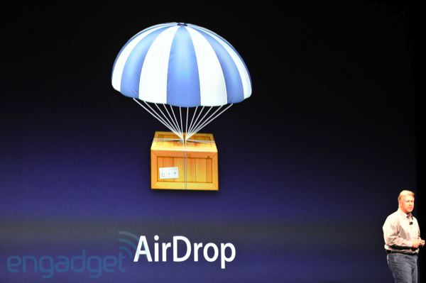 AirDrop (Foto: Reprodução: Engadget)