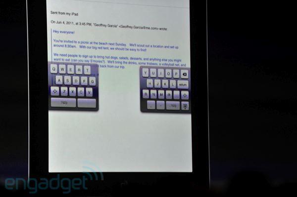 Novo teclado virtual (Foto: Reprodução: Engadget)