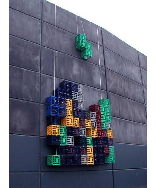Tetris na vida real (Foto: Reprodução)