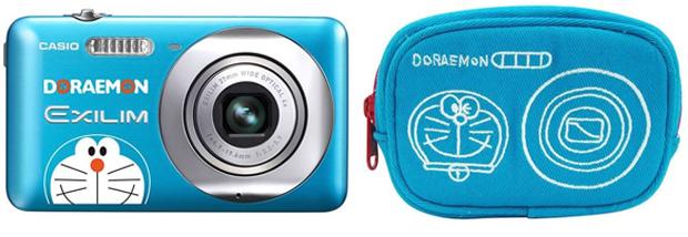Câmera e case Doraemon para o público infantil (Foto: Divulgação)