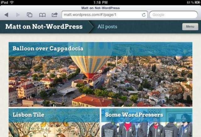 Onswipe, para Wordpress (Foto: Divulgação)