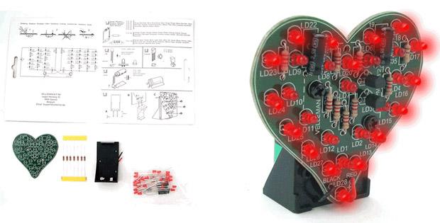 Coração LED (Foto: Reprodução)