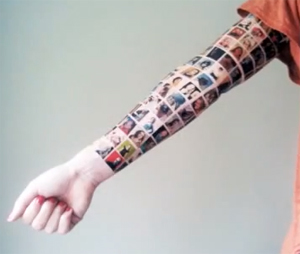 Mulher tatuada (Foto: Divulgação)