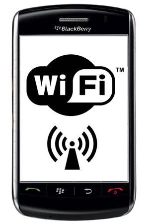 Wi-Fi no BlackBerry (Foto: Divulgação)