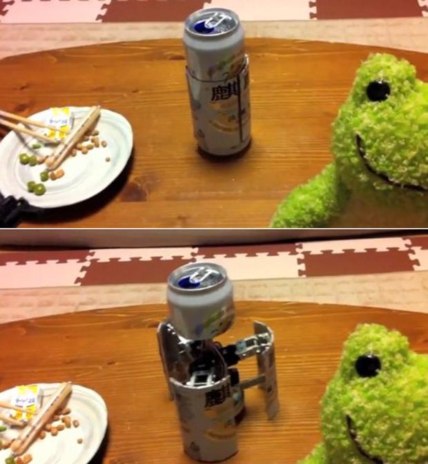 Cerveja transformer (Foto: Reprodução)