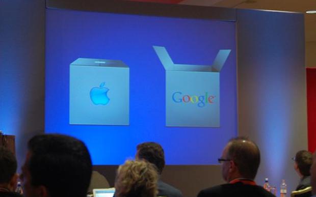 Slide apresentado durante discurso do CEO da Nokia (Foto: Reprodução)