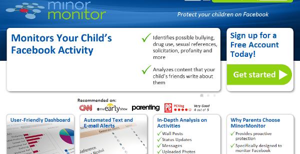 Site Minor Monitor (Foto: Divulgação)