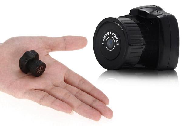 Minicâmera possui, também, qualidade. (Foto: Divulgação)