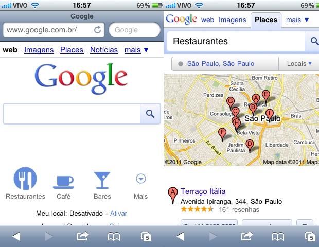 Google Mobile Search (Foto: Divulgação)