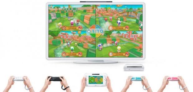Wii U e Wii Remotes (Foto: Divulgação)