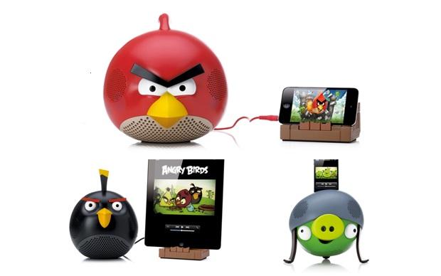 Angry Birds Speakers (Foto: Divulgação)