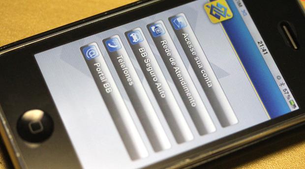 Aplicativo oficial do Banco do Brasil para iPhone (Foto: Allan Melo/TechTudo)