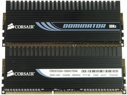 Corsair Dominator DDR 3 (Foto: Divulgação)
