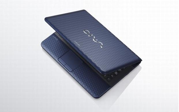 Modelo midnight blue, da Sony VAIO E Series. (Foto: Divulgação)