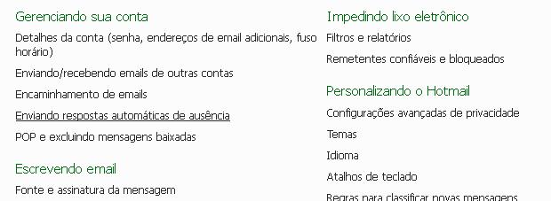 Enviando resposta automática de ausência (Foto: Reprodução/TechTudo)
