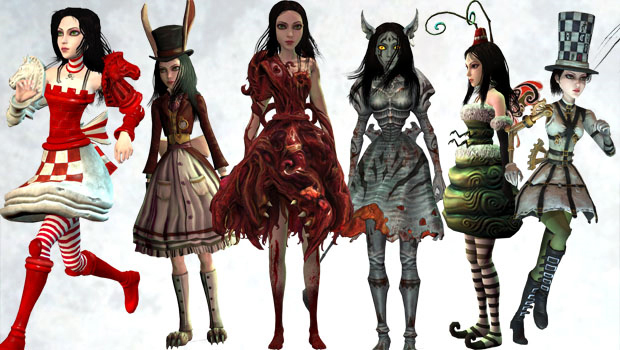 Pacote Weapons of Madness and Dresses Pack para Alice: Madness Returns (Foto: Destructoid)