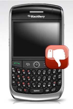 BlackBerry não liga? (Foto: Divulgação)