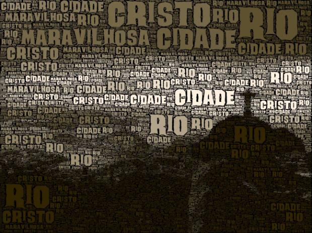 Imagem criada com o Worldfoto (Foto: Reprodução)